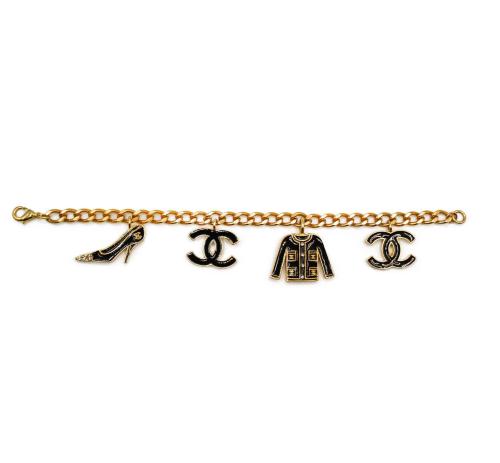 Chanel vintage charms bracelet