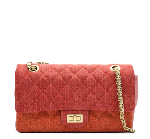 Chanel Limited edition 2.55 tricolor bag