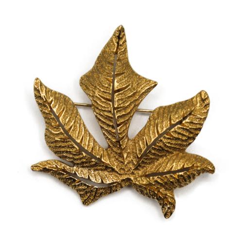 Dior Vintage leaf Brooch