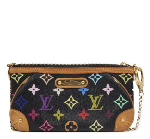 Louis Vuitton black multicolor monogram  bag