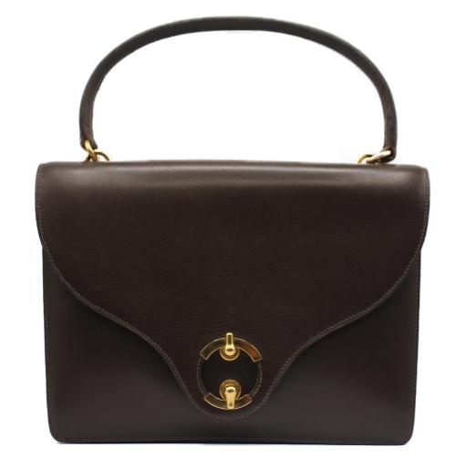 Hermes vintage brown leather bag