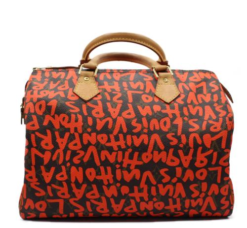 Louis Vuittin graffiti speedy bag