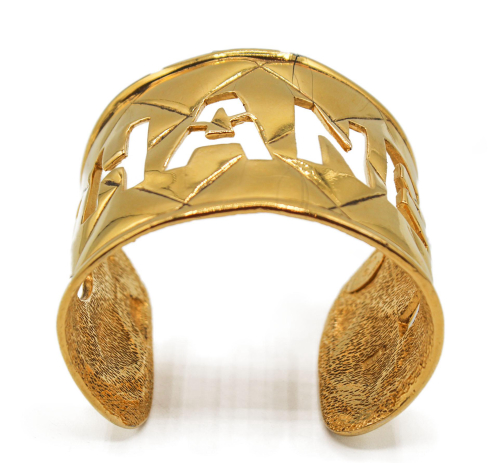 Chanel golden Logo 90's Cuff