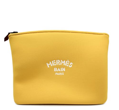 Hermes Bain medium size neoprene pouch