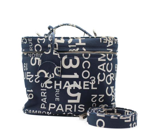 Chanel Cambon Canvas Vanity bag
