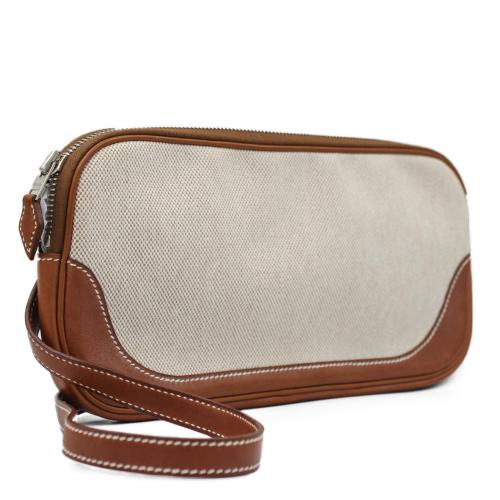 Vintage Hermes canvas beltbag