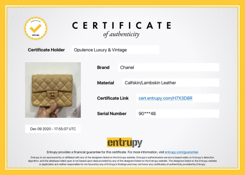 Chanel, Louis Vuitton and Gucci Authentification