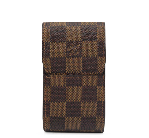 Louis Vuitton cigarettes holder monogram canvas