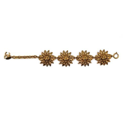 Chanel Lion head bracelet