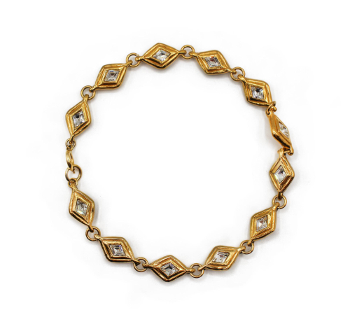 Chanel short Losange necklace