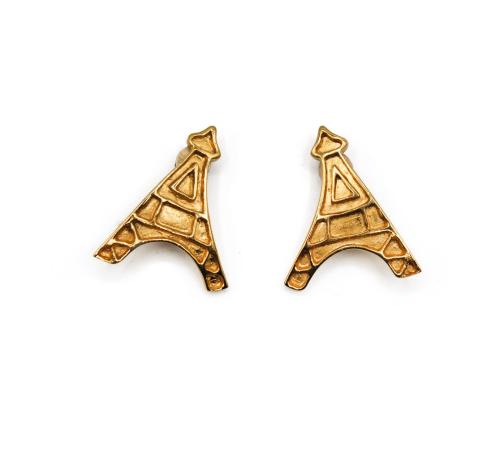 Yves Saint Laurent Golden Eiffel Tower earrings