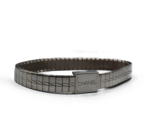 Chanel steel 1998 belt