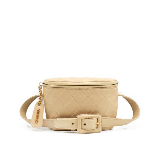 Chanel beige beltbag