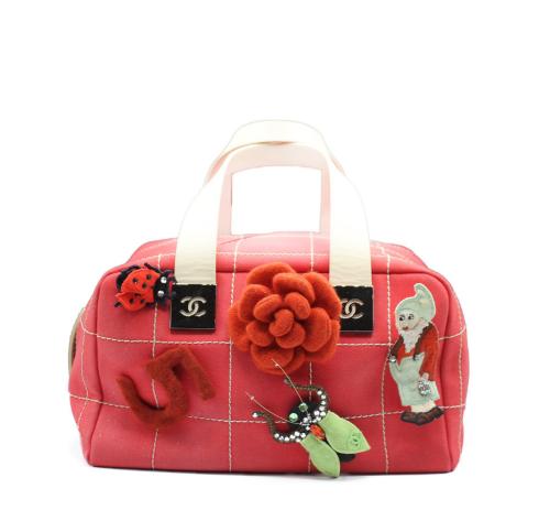 Chanel Canvas Garden bag