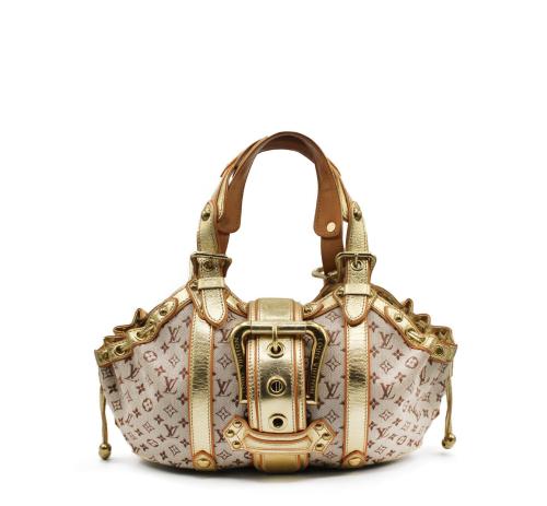 Louis Vuitton Theda Golden shoulder bag
