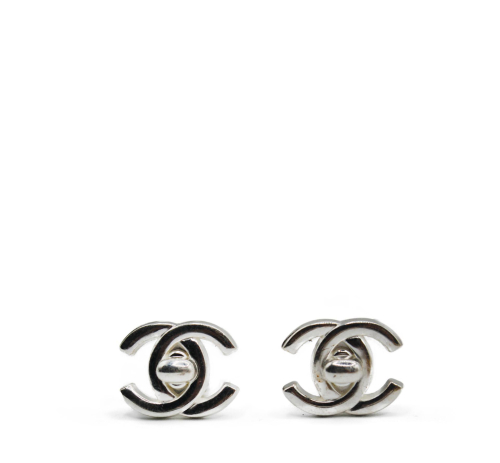 Chanel Turnlock earrings