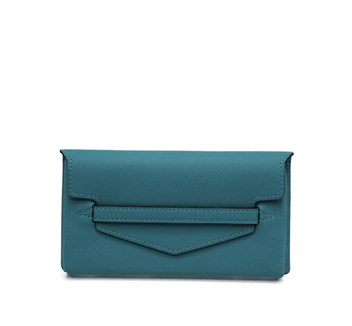 "Hermes Small ""Smart"" blue pouch"