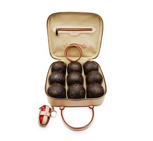Collectible Louis Vuitton petanque set