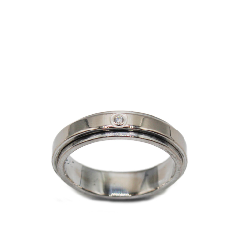 White Piaget Possession ring size 54