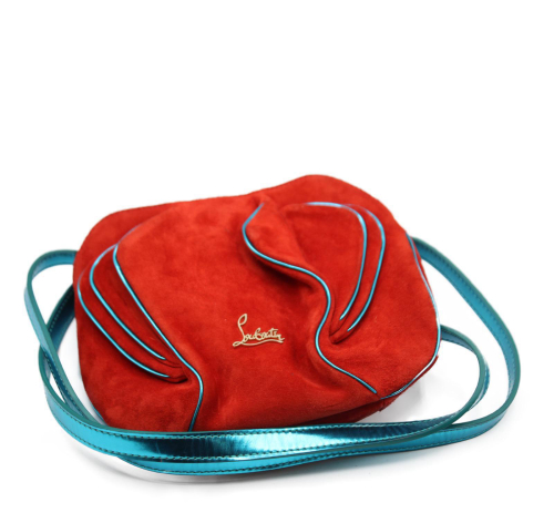 Small Christian Louboutin Suede bag