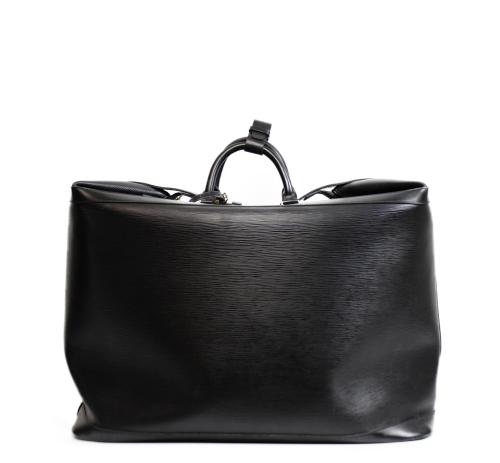 Louis Vuitton black epi cruiser bag