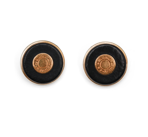 Hermes XL Clou de selle earrings