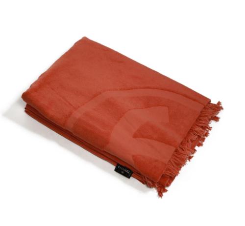 Chanel orange beach  towel