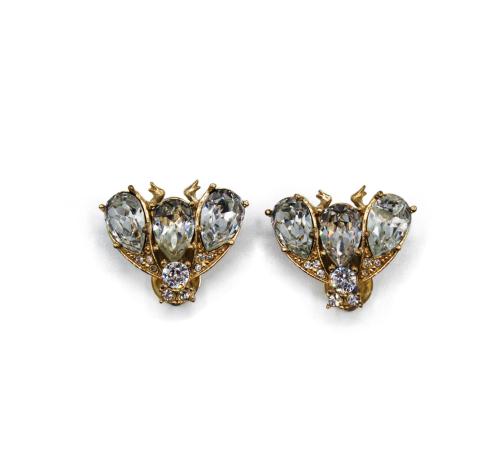 Christian Dior Bee earrings
