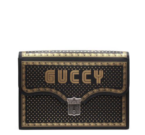 Guccy Gucci Portfolio Clutch