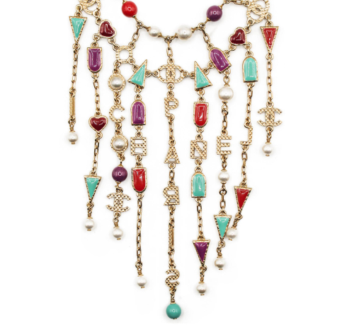 Chanel 2017 beaded necklace