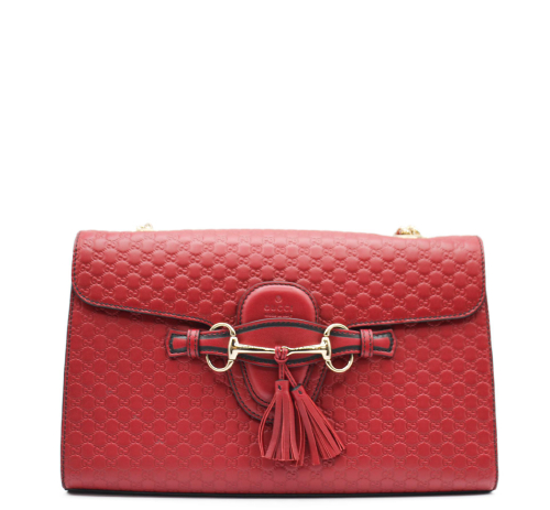 Gucci red  Emily bag