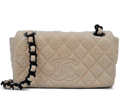 Chanel bag in Towel Cloth and bakelite