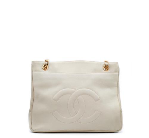 Chanle Beige shopper bag