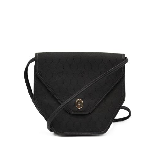 Dior monogram nylon shoulder bag