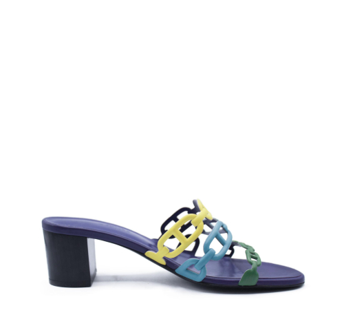 Hermes Chaine d'ancre sandals size 37