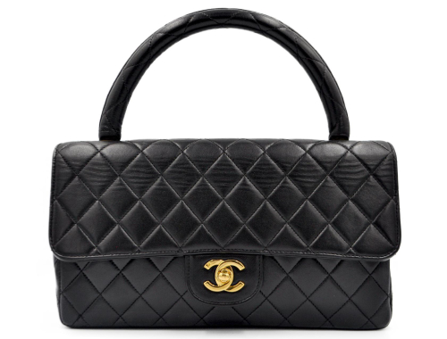 Chanel Top Handle Timeless Bag