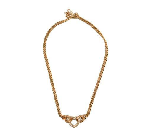 Dior heart necklace