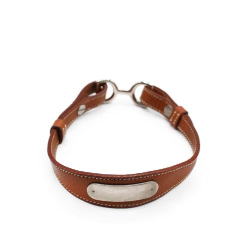 Hermes leather Dog leash