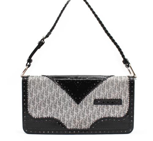 Dior shoulder grey bag
