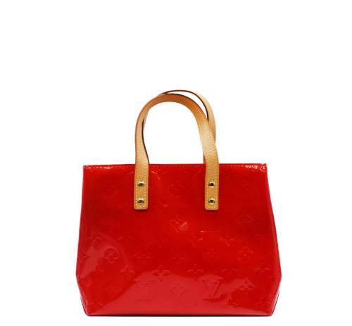 Louis Vuitton patent leather hand bag