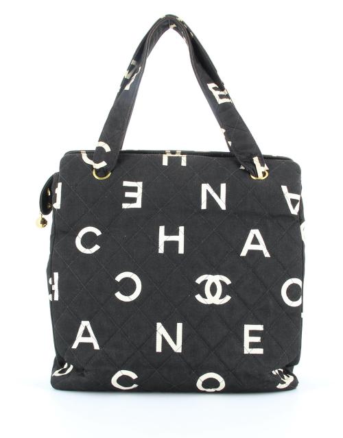 Chanel Canvas Letter Caba bag
