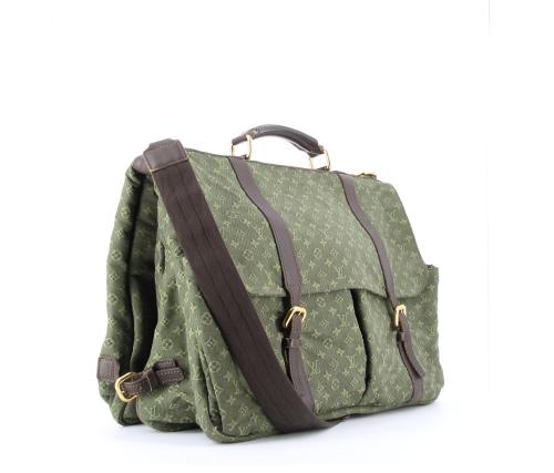 Louis Vuitton Saumur Idylle canvas bag