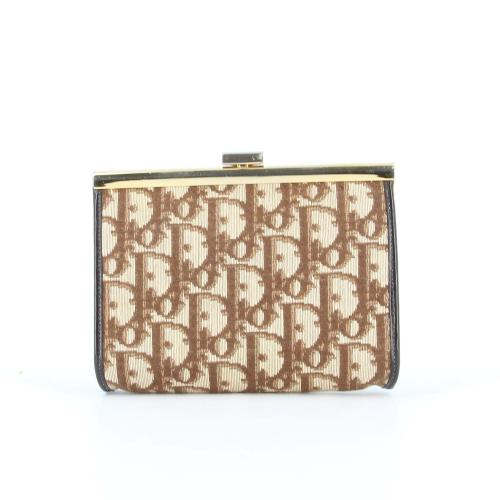 Dior small Oblique canvas pouch