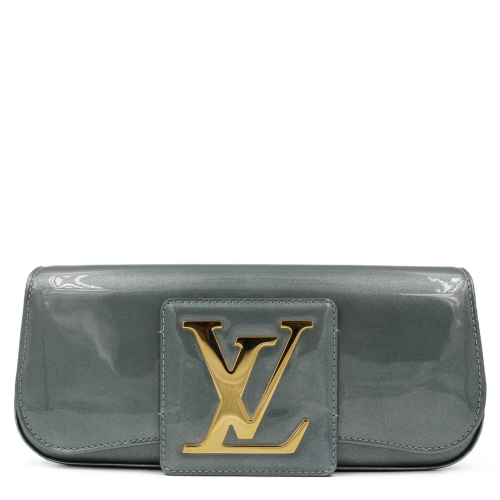 Louis Vuitton Green Sobe Clutch