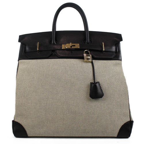 Hermes Canvas and Leather HAC 40