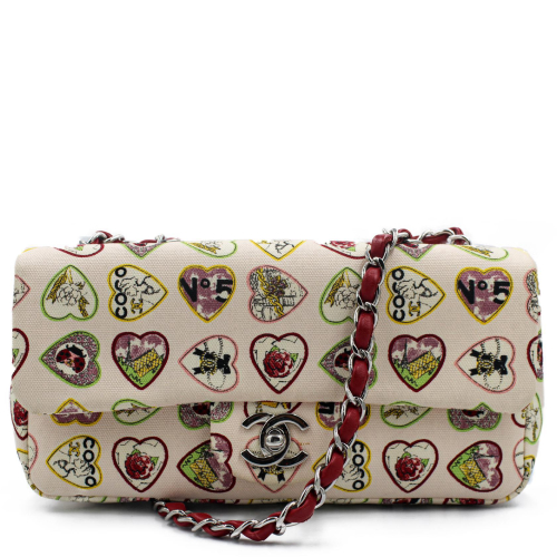 Chanel Hearts Timeless Baguette