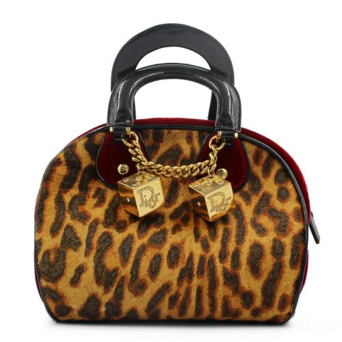 Dior velvet Gambler bag