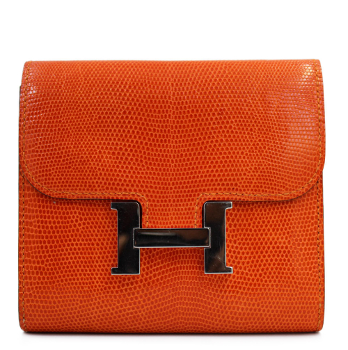 Hermes Constance compact wallet