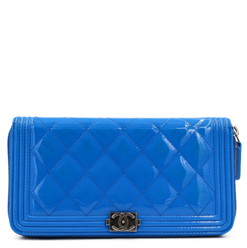 Chanel Boy blue  wallet
