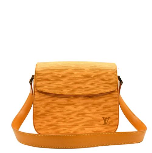 Louis Vuitton Buci yellox epi leather bag